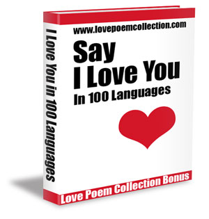 I Love You In 100 Languages